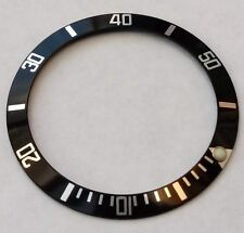 Divers Bezel Insert - For Seiko 7S26-0040 SKX031 Divers Watch 0.7mm Euro Quality