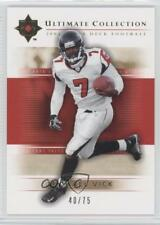 2004 Upper Deck Ultimate Collection Gold /75 Michael Vick #3