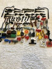 Lego Lot of guns-tools-cups-food -etc. used lot of 80+