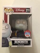 Funko Pop! Behemoth #211 Disney Nightmare Before Christmas NYCC 2016 BRAND NEW