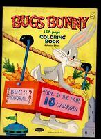 BUGS BUNNY WHITMAN 1963 COLORING BOOK  WARNER CARTOON UNUSED
