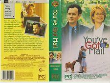 Vhs * You've Got Mail * 1998 Australian Warner Home Video - Adult Comedy Romance