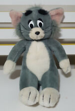 HANNA BARBERA TOM AND JERRY CAT PLUSH TOY! SOFT TOY ABOUT 25CM SEATED KIDS TOY!