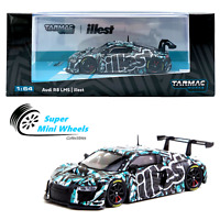 Tarmac Works 1/64 Audi R8 LMS (Blue/Black) - illest - HOBBY64