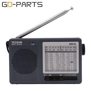 Tecsun R-9012 Radio FM MW SW 12 Bands Short Wave Receiver Built in Speaker 1PC