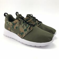 Nike Mens Roshe One SE Special Edition Medium Olive Camo Shoes Size 10.5