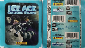 Panini stickers  ICE AGE COLLISION COURSE sealed packs 5,10,25,50 packets