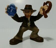 "Indiana Jones Raiders of the Lost Ark 2.25"" Action Figure Skull Jewell Whip"