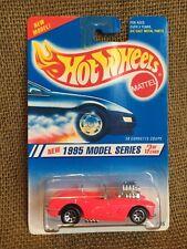 Hot Wheels 1995 Model Series '58 Corvette Pink Variation w/ Engine Exposed