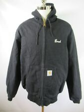 E9666 CARHARTT Hooded Active Work Jacket Size XL TALL