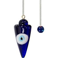 Blue Evil Eye Ward Pendulum!