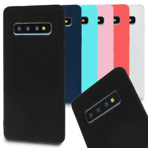 Handyhülle für Samsung Galaxy S10 / S10+ Plus / S10 lite Matte Cover Back Soft
