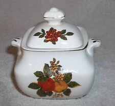 VINTAGE ENOCH WEDGEWOOD TUNGSTALL'BOUNTY' SUGAR POT / BOWL