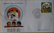 SOS Kinderdorf 2012 FDC Sri Lanka Weltkindertag 2012