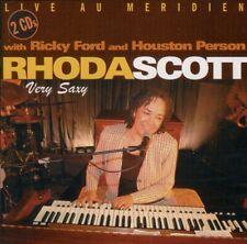 RHODA SCOTT - RICKY FORD & HOUSTON PERSON  very saxy  LIVE AU MERIDIEN / 2 CD