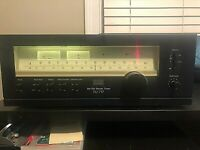 Sansui TU-717 AM/FM-Stereo Tuner - Powers On - NOT Tested/For Parts