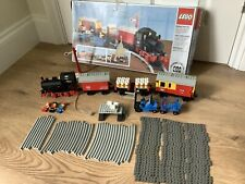 Lego 7722 Steam Cargo Battery Train With Mini Figures