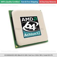 ADO4400IAA5DD AMD Athlon 64 X2 4400+ Dual Core 2.30GHz 1MB L2 Socket 939 CPU