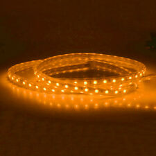 LED Strip Rope Wire Light 5050 SMD 60LED/M IP67 Waterproof With Plug AC110V/220V