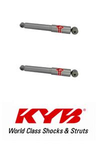 KYB Rear Pair Shock Absorber Gas-a-Just For 11-17 Hyundai / Kia #554384