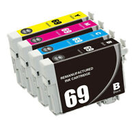 Remanufactured T069 69 Ink Cartridge for Epson WorkForce 1300 40 600 610 CX7400