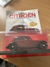 1/24 1/24eme Collection Citroën N°17 TRACTION 7A voiture miniature Hachette 🦅🦅