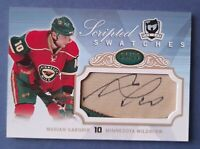 2007-08  Marian GABORIK  UD The CUP Scripted SWATCHES Auto PATCH 04/25 WILD