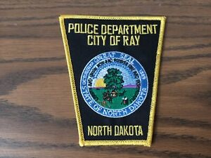 Ray North Dakota Police Department Vintage Defunct Patch