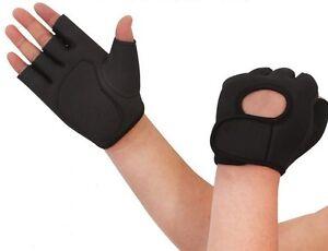 Fitness Handschuhe Trainingshandschuhe Neopren Handschuh Kraft Training Sport