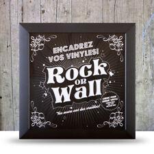 Cadre noir pour disque vinyle  ROCK ON WALL Neuf sous cello.