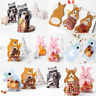 10Pcs Cute Animal Candy Bags Cookie Gift Bags Greeting Cards Baby Shower Favour