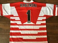 1998 1999 Wigan Radlinski No 1 Rugby League Shirt Medium Warriors Jersey