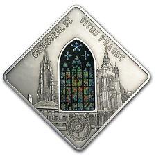 Palau 2013 Proof Silver $10 St. Vitus Cathedral Coin- Prague Castle - SKU #84727