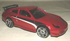 porsche 911 GT3 cup rouge hotwheels 1/64 neuve new Hot Wheels course rally