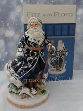 """*Nib* 2019 Fitz and Floyd Bristol Holiday Santa 18"""" Figurine #49-482"""