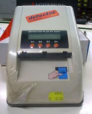Rilevatore di Banconote False DETECTOR PLUS MEDIATEL  nuovo da negozio
