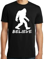 Big Guys Rule Big and Tall King Size Funny Bigfoot Believe T Shirt