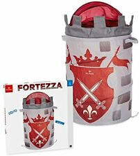 Cesta Contenitore Porta Giochi Fortezza Pop Up Torre Medievale Cameretta