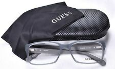 6bebd7a8207 GUESS GU 1843 Eyeglass Glasses Frames Blue Gray Grey 57-17-145