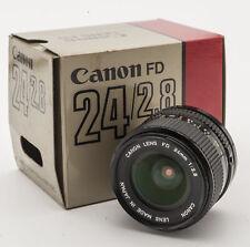 Canon Lens FD 24mm 24 mm 1:2.8 2.8 OVP