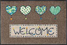 Wash Dry Fußmatte Welcome Hearts