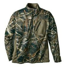 Cabela's Realtree MAX 5 Camo Lewiston Waterfowl 1/4 Zip Pullover Jacket Size 2XL