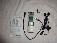 Philips Voice Tracer Zoom Mic System Digital Audio Voice Recorder LFH0884