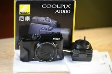 Nikon COOLPIX A1000  Digital Camera AS NEW, BOXED.