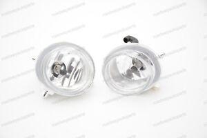 Pair Clear Lens Bumper Fog Lights lamps w/Bulbs for Mazda 3 Axela 2014-2016