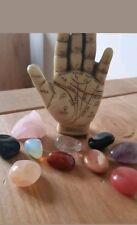 Crystal Healing Beginner's Guide pack  Book & set 10 crystalsrose quartz wright