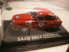 Voiture DEL PRADO 1/43 SAAB 96V4 SWEDEN RALLY 1972 NEUF