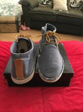 Mens Timberland Earthkeepers Wedge Chukka 5155A Blue Denim Size 11
