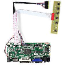 "HDMI DVI VGA Audio LCD Driver Board for 15.6"" 1366x768 LCD 40pin LED Backlight"