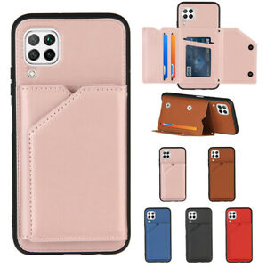 For Huawei P40 Lite P30 Pro P30 Lite P30 Case Leather Wallet Cards Flip Cover